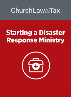 Starting a Disaster Response Ministry