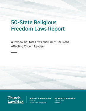 50 State Religious Freedom Laws - Cover