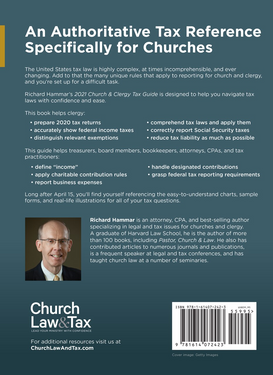 2021 Church & Clergy Tax Guide (Book)