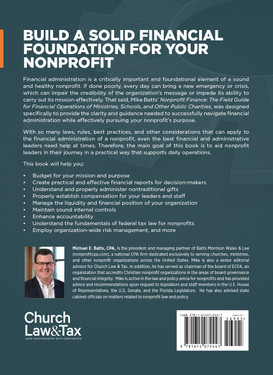 Nonprofit Finance: The Field Guide for Financial Operations of Ministries, Schools, and Other Public Charities