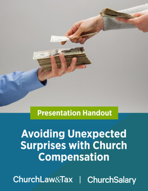 Avoiding Unexpected Surprises with Church Compensation - Webinar cover image