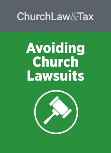 Avoiding Church Lawsuits