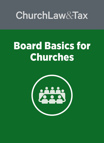 Board Basics for Churches