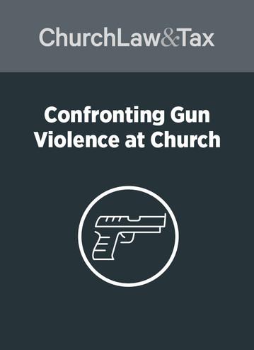 Confronting Gun Violence at Church
