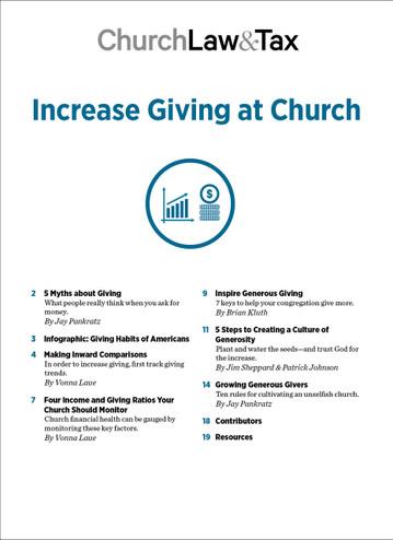 Increase Giving at Church