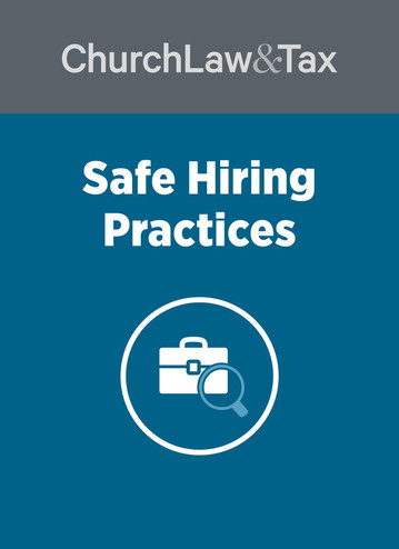 Safe Hiring Practices for Churches