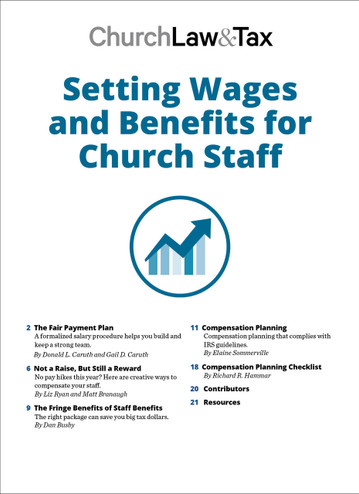 Setting Wages and Benefits for Church Staff