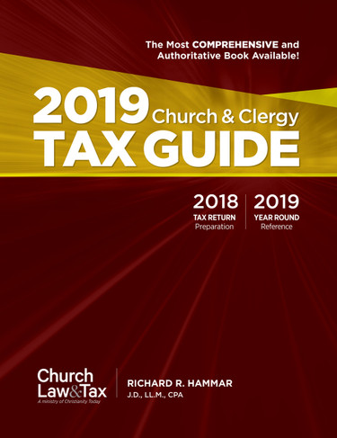 2019 Church & Clergy Tax Guide