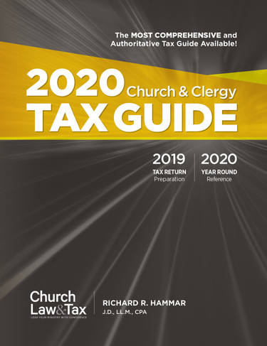 2020 Church & Clergy Tax Guide (PDF)