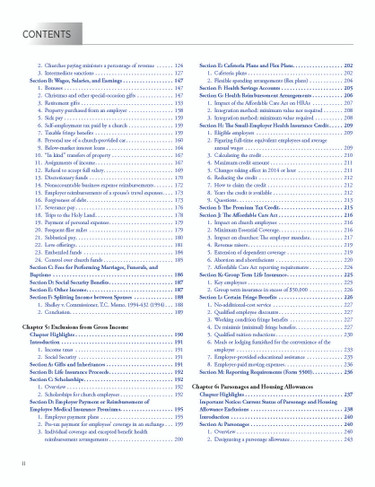 2020 Tax Guide Table Of Contents pg.2