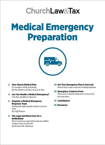 2020 Emergency Bundle - Medical Emergency Preparation - TOC