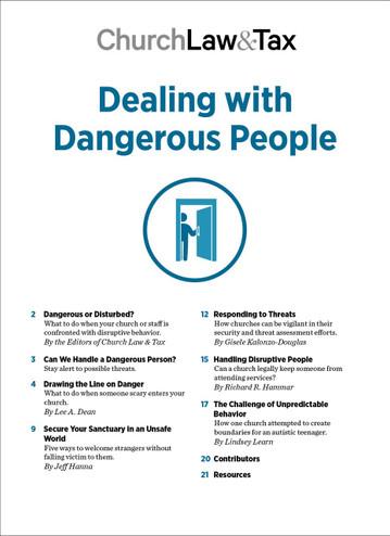 2020 Emergency Bundle - Dealing with Dangerous People - TOC