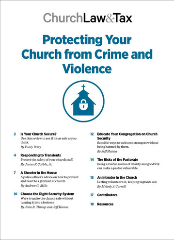 2020 Emergency Bundle - Protecting Your Church from Crime and Violence - TOC