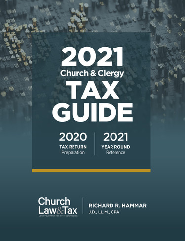 2021 Church & Clergy Tax Guide (Book)