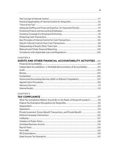 Nonprofit Finance -TOC 3
