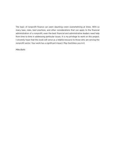 Nonprofit Finance -TOC 5