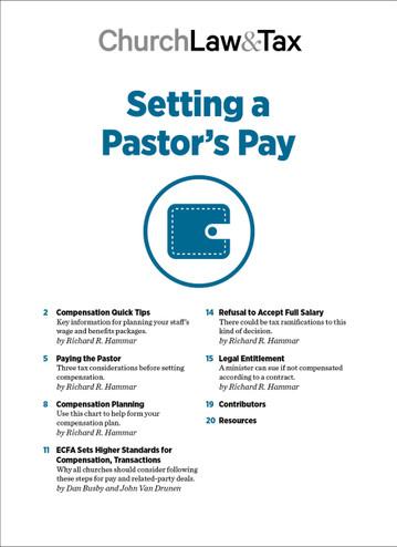 2021 Pastoral Compensation Bundle
