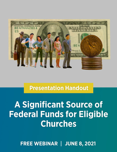 A Significant Source of Federal Fund for Eligible Churches - Webinar cover image