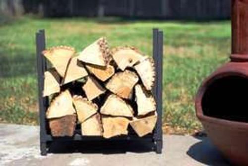 "Woodhaven Log, Firewood Rack  2'x 2' x 10"""