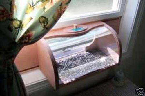 Coveside Bread Box Window Mount Bird Feeder with 2-way Mirror 27500
