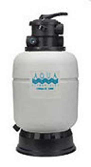 "Aqua Ultima II 2000 gal Cyclonic Bead Filter 1-1/2"" Top A50019"