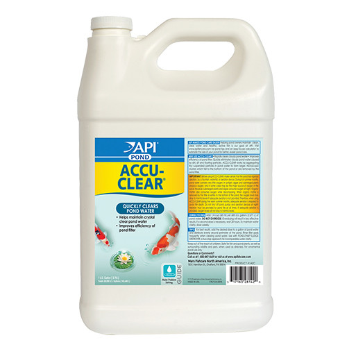 API Pond Care AccuClear 1 Gallon Pond Water Clarifier  142 C