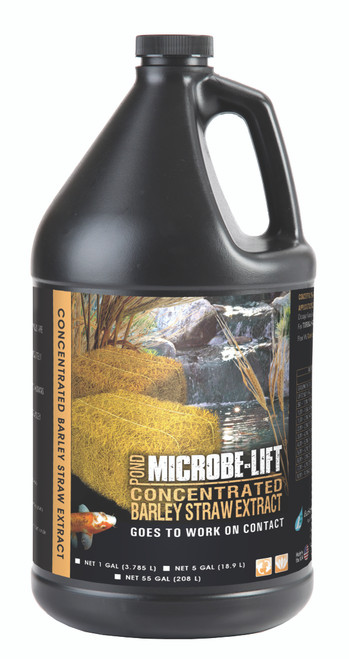 Microbe-Lift Barley Straw Extract 1 gal. MLCBSEG4 Liquid Concentrate