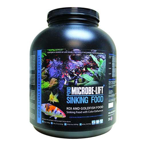 Microbe-Lift Koi and Goldfish Food Sinking Pellets 5 lb 12 oz MLLSPLG