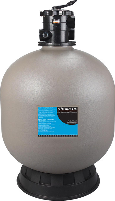 "Aqua Ultima II 20000 gal Cyclonic Bead Filter 2"" I/O Koi Pond Filter AQA50119"