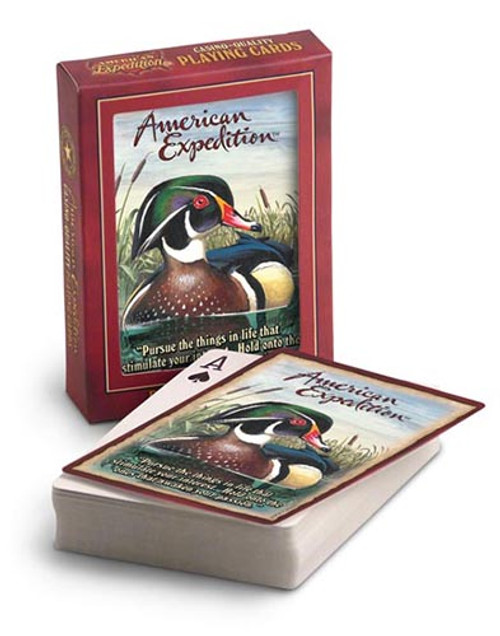 American Expedition Wood Duck Playing Cards