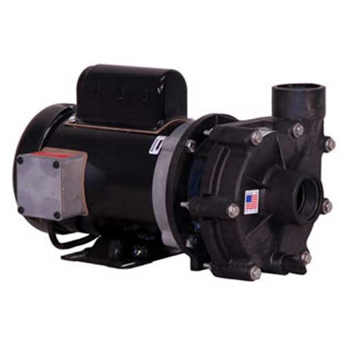 Sequence ValuFlo External Pond Pump 5100gph 5100VAF22 The ValuFlo 1000 Series is a medium pressure external pump with ample flow that's the perfect blend for most ponds. The motor is totally-enclosed, and fan-cooled for durability.
