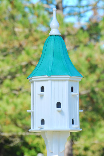 """Fancy Home Products Decorative  Dovecote Patina Copper Bell Roof 16"""" BH16-12-PC BELL"""