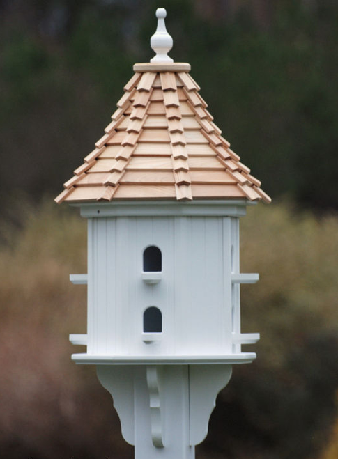 "Fancy Home Products Slope Birdhouse Cypress Shingle 14"" BH14-8-CS SLOPE"