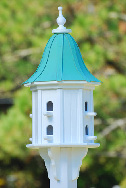 Fancy Home Products Bell Birdhouse Patina Copper Roof BH14-8-PC BELL