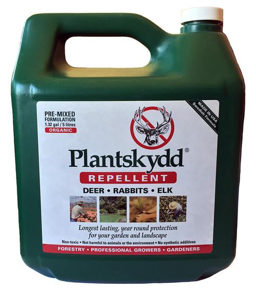 Plantskydd RTU Pre-Mixed Deer Rabbit Elk Moose Repellent 1.3 gallon RTU Ready To Use Lond Lasting