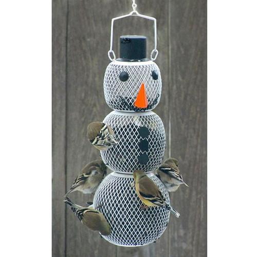 No No Snowman Bird Feeder