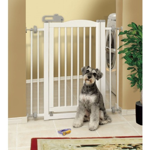 Richell One-Touch Pet Gate White R 94160