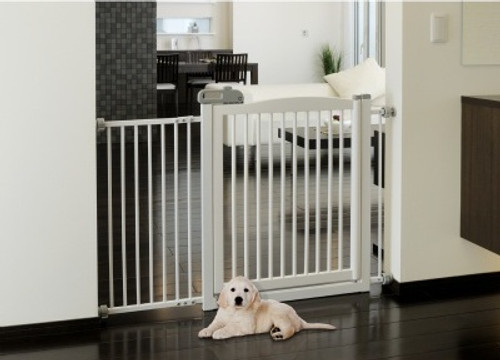 Richell One-Touch 150 Pet Gate White