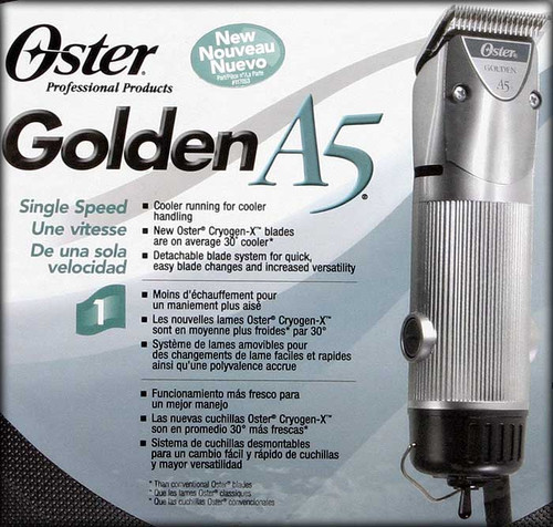 OSTER GOLDEN A 5 SINGLE SPEED CLIPPER