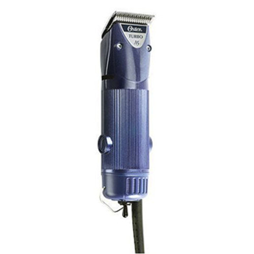 OSTER TURBO A 5 TWO SPEED PROFESSIONAL CLIPPER WITH #10 CRYOGEN-X BLADE & OIL