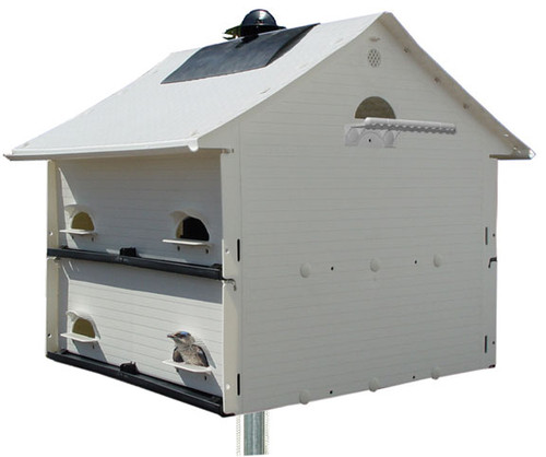 S&K Heavenly Haven 10-Family Purple Martin House HH