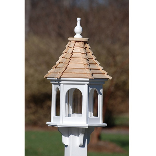"Fancy Home Products Gazebo Bird Feeder 12"" BF12-CS-PANELS"