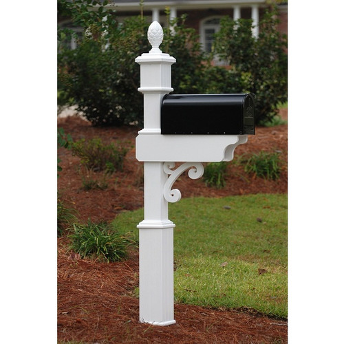 Fancy Home Products Mailbox Post MBP-4-02-A