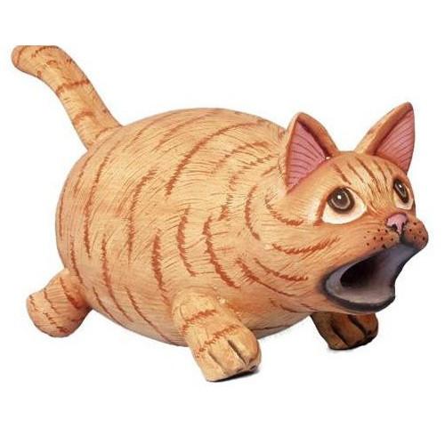 Bobbo Cat Mouth Orange Tabby Birdhouse BOBBO3880180