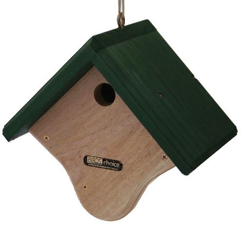 Birds Choice Wren House Natural Cedar w/ Green Roof GWREN