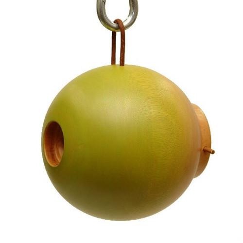 Byer of Maine Globe Bird House Mango Tree Collection in Green MTCD115G