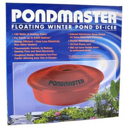 Pondmaster Floating Pond De-Icer 120 watts Energy Efficient Koi Pond Winter Pond De-Icer (SUP 02175)