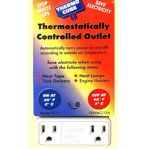Farm Innovators Thermo Cube Power On at 35 Degrees  TC3