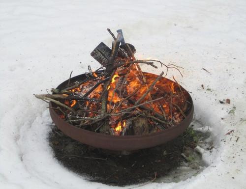 """Fancy Fire Pit Corona 14""""x37"""""""