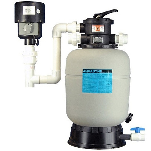 Aquadyne AD 2000 Bead Filter With DynaMax Blower
